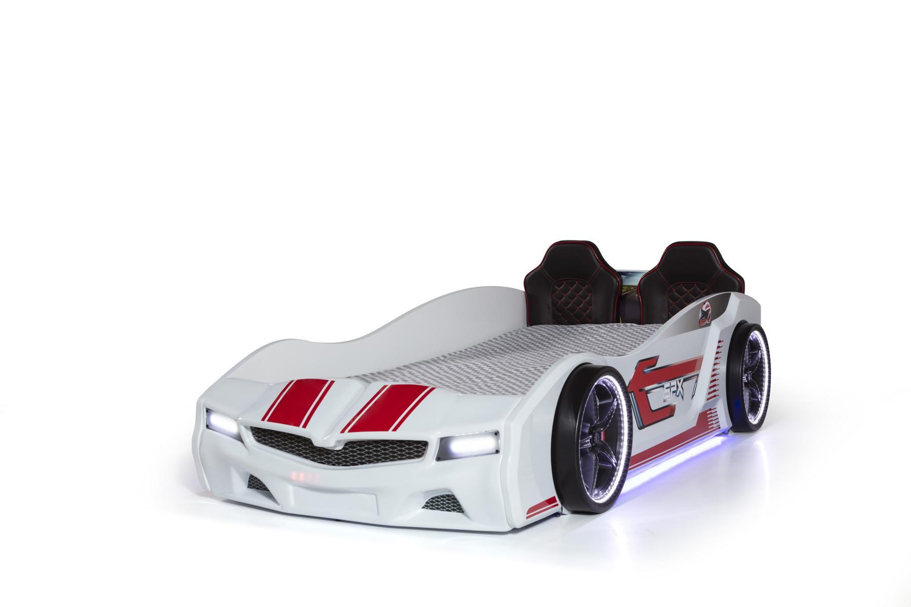 Autobett Bumer SPX weiß Full mit Bluetooth
