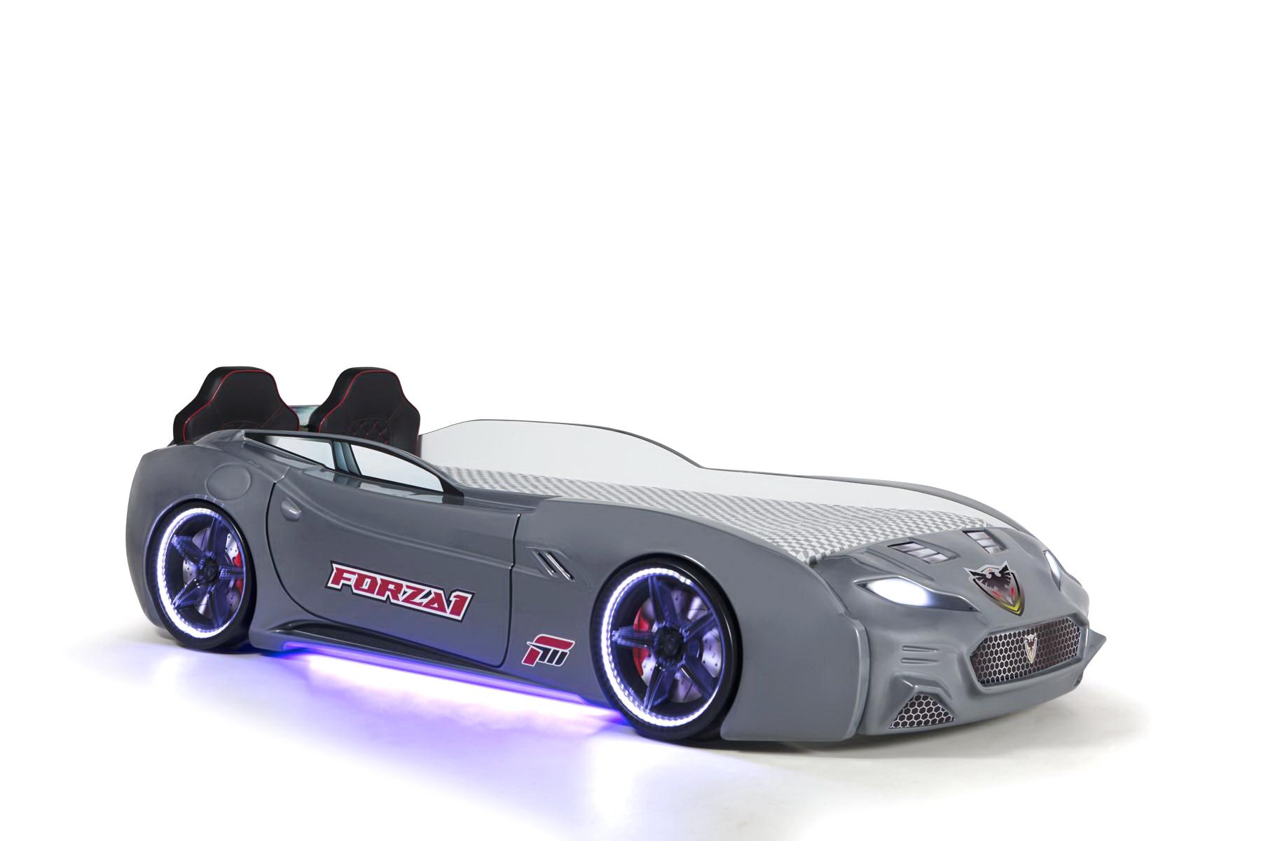 Autobett Forza 1 Coupe mit Bluethooth Grau