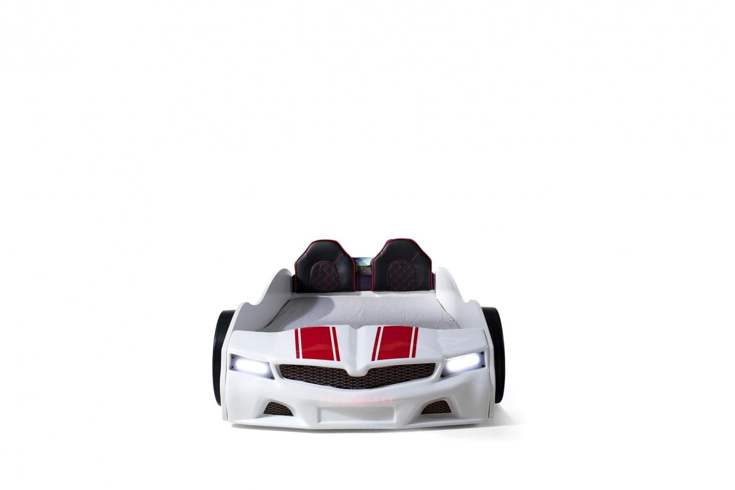 Autobettzimmer Komplett SPX Turbo 4-teilig Weiß