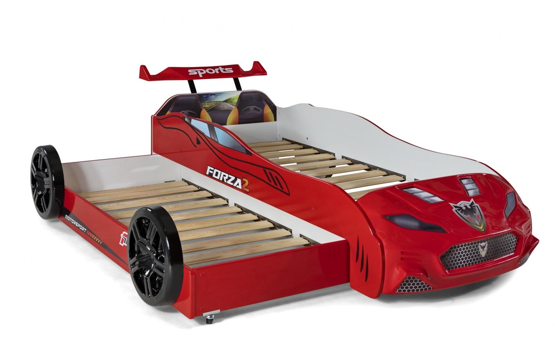 Autobettzimmer komplett Forza 2 Grand Prix 5-Teilig Rot