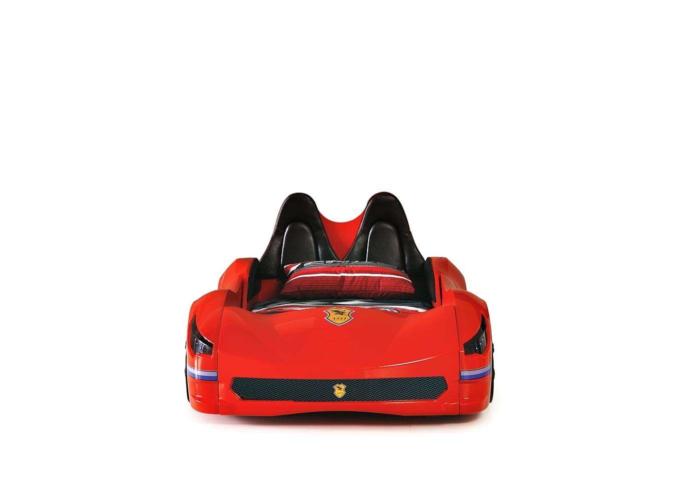 Autobett Cabrio mit Sportsitzen und Türen