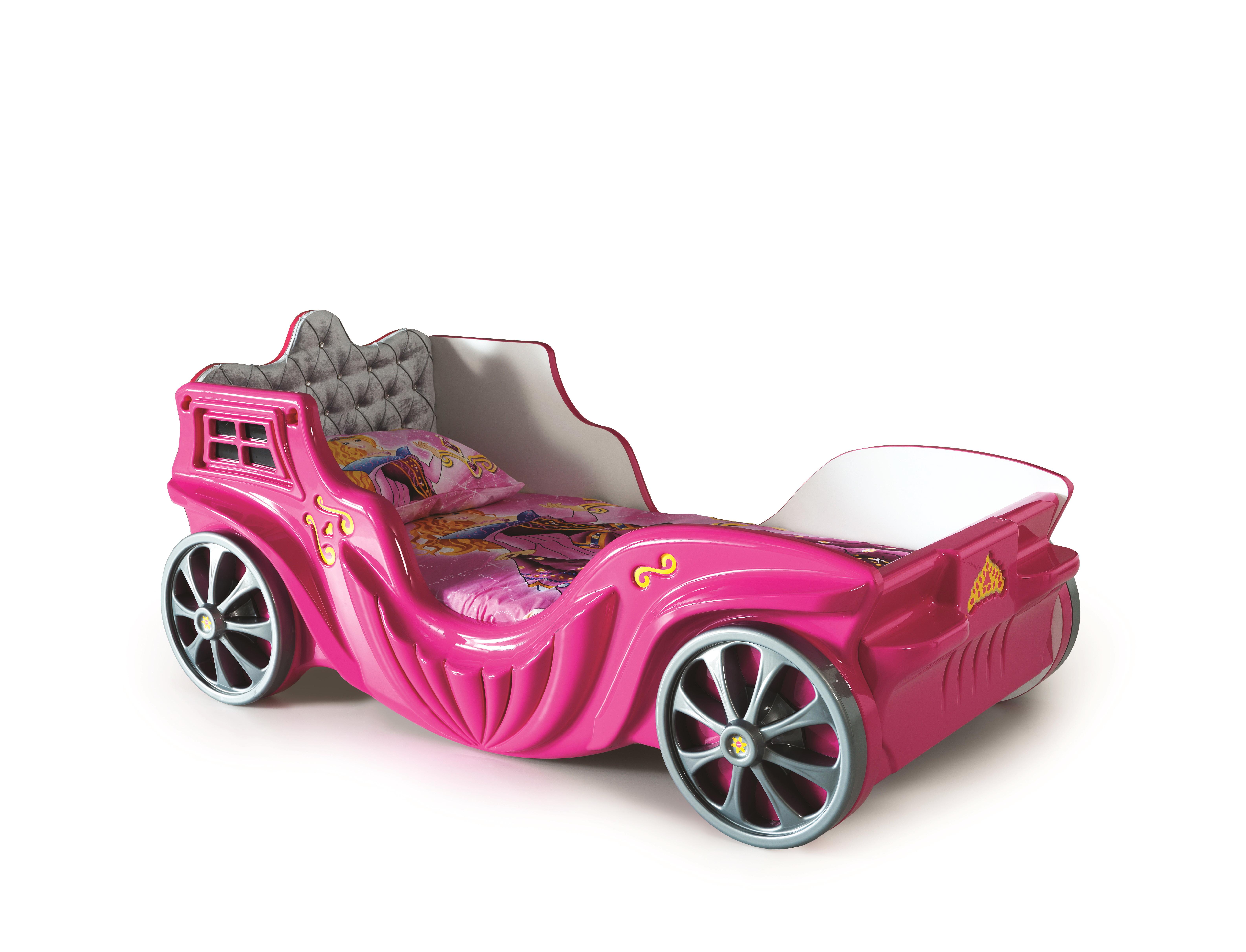 Titi Kutschenbett Mädchen 90x190 Princess in Pink