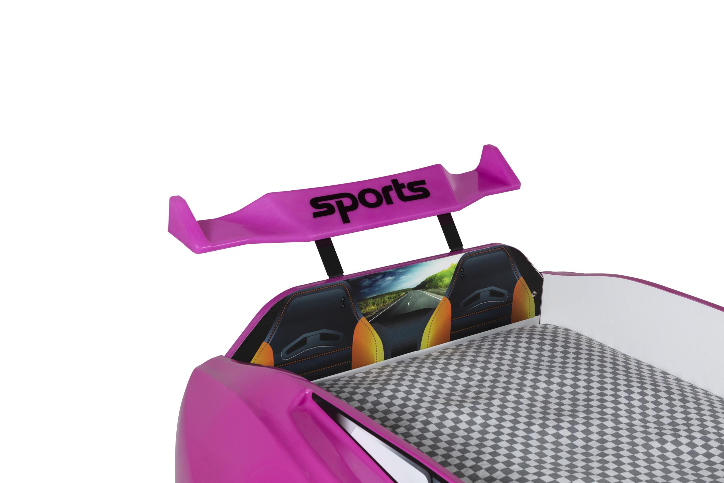 Autobett Forza 1 Coupe mit Bluethooth Pink