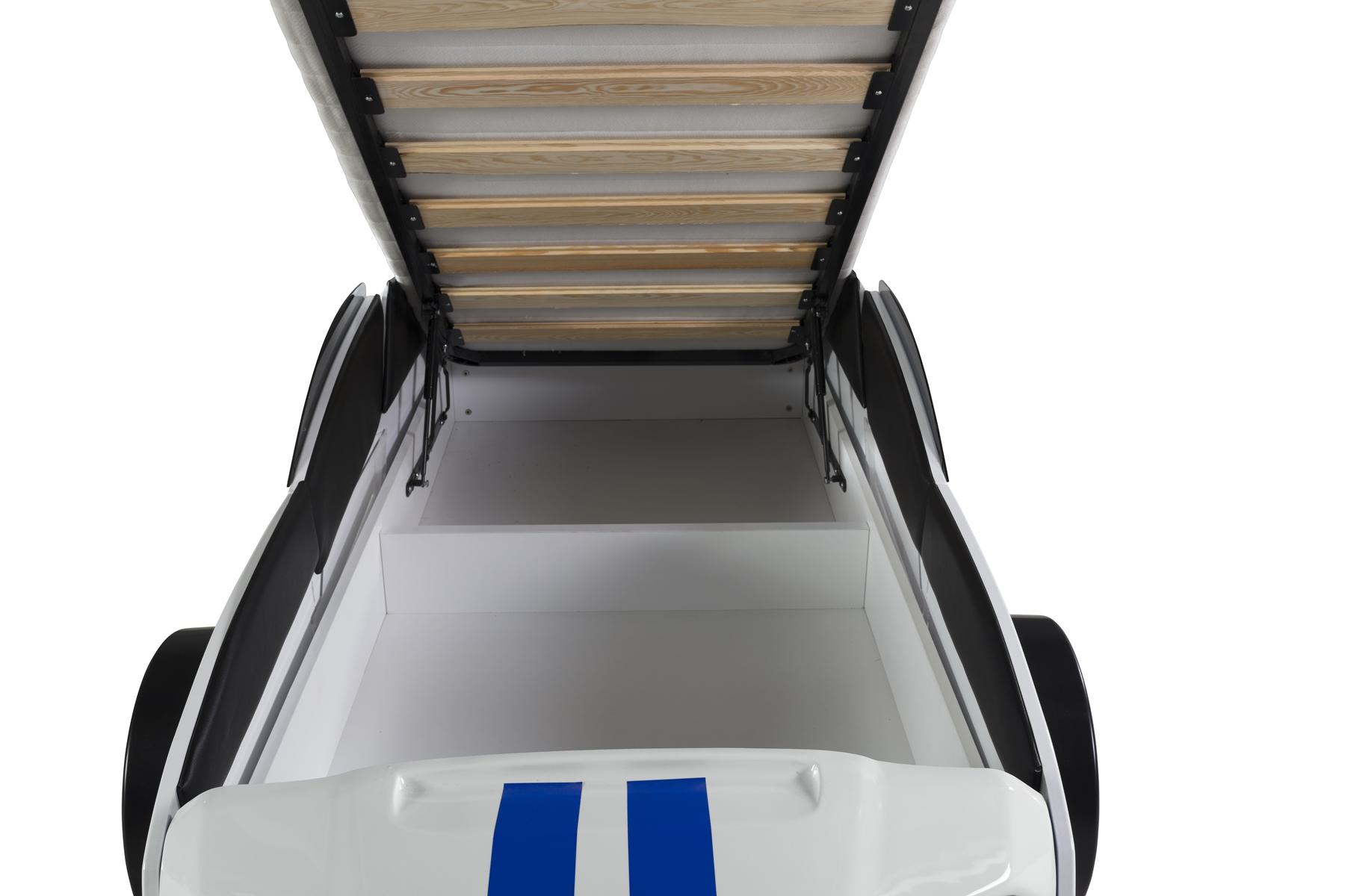 Autobett Must Rider 500 mit Türen in Weiß