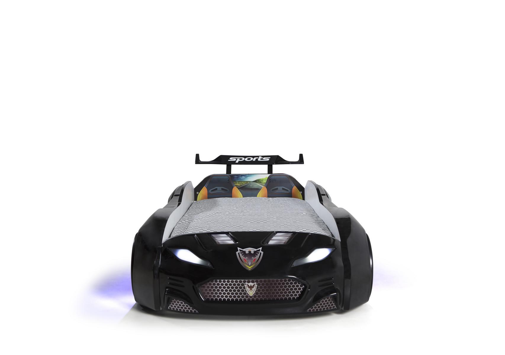 Autobett Forza 1 Coupe mit Bluethooth Schwarz