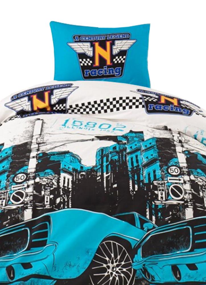 Cool Racer Baumwolle 2-teilig Blau