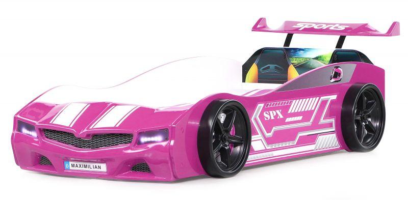 Autobett Bumer SPX Pink mit LED Scheinwerfer